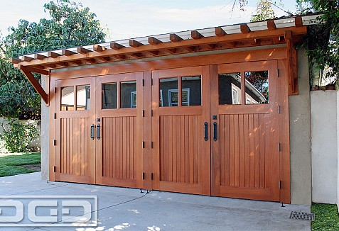 swing out garage doorsOutSwing Carriage Door Conversion Ideas for Your Garage Project