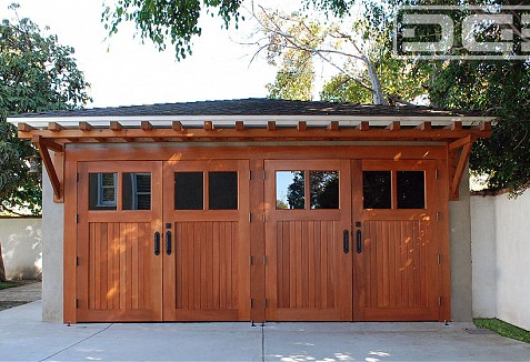 Craftsman Style Carriage Garage Doors Crafted By Hand In