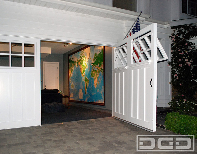 Real Carriage Doors For Garages Converted Into Liveable