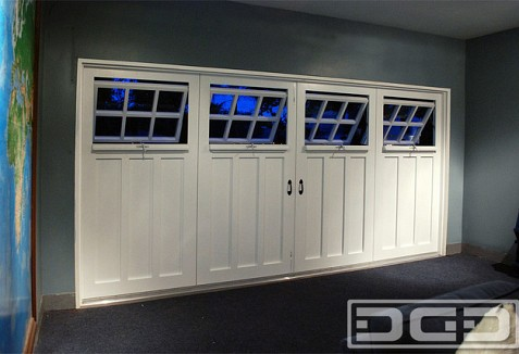 swing out garage doorsCustom Made Out Swing Carriage Garage Doors With Functional