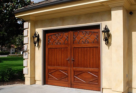 French Provincial Garage Door Design