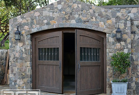Tuscan Garage Doors Amp Carriage Doors In A Rustic Wood
