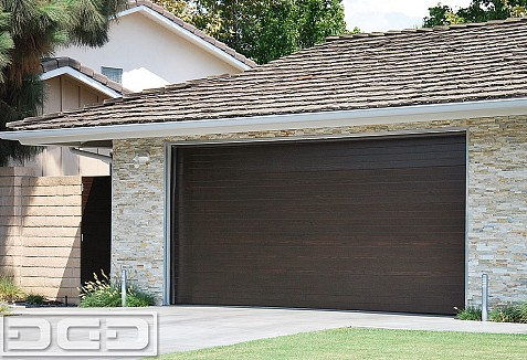 View exquisite mid century modern garage doors matching for Composite wood garage doors