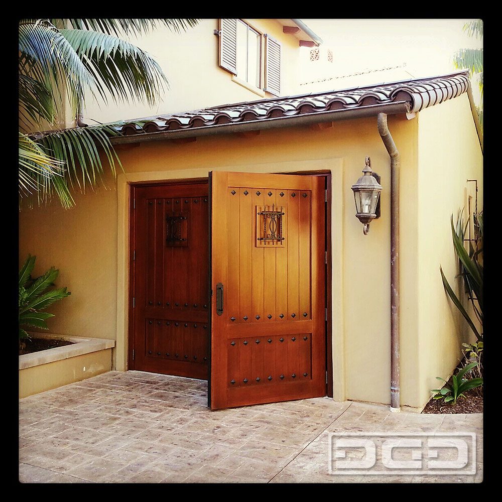 Carriage Doors for a Man Cave Garage!