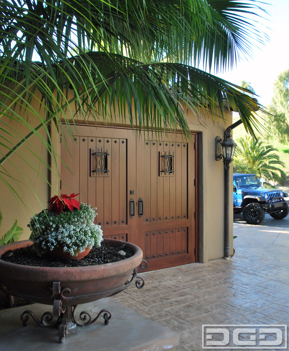 Composite Wood Carriage Garage Doors