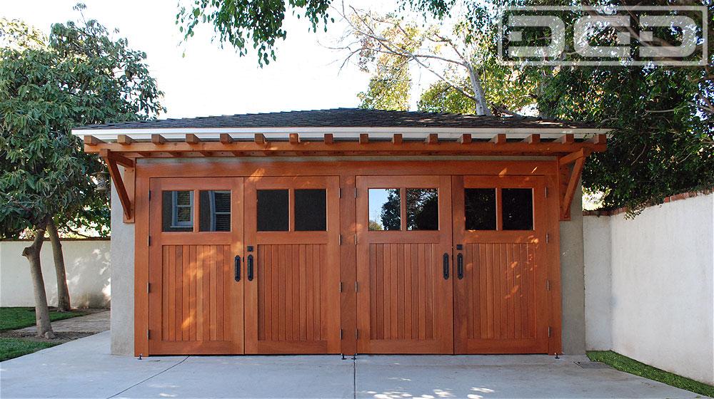 Garage Door to Carriage Door Conversion