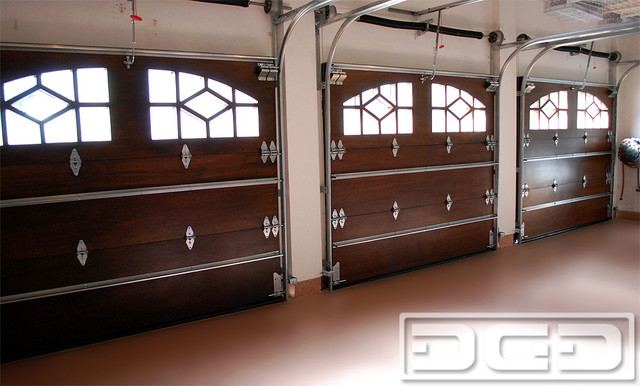Inside Our Custom Wood Garage Doors