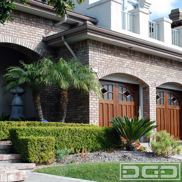Custom Craftsman Style Garage Doors