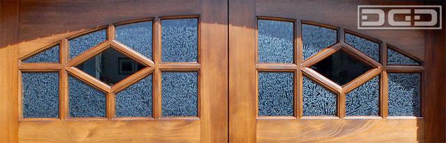 Craftsman Garage Door Window Design