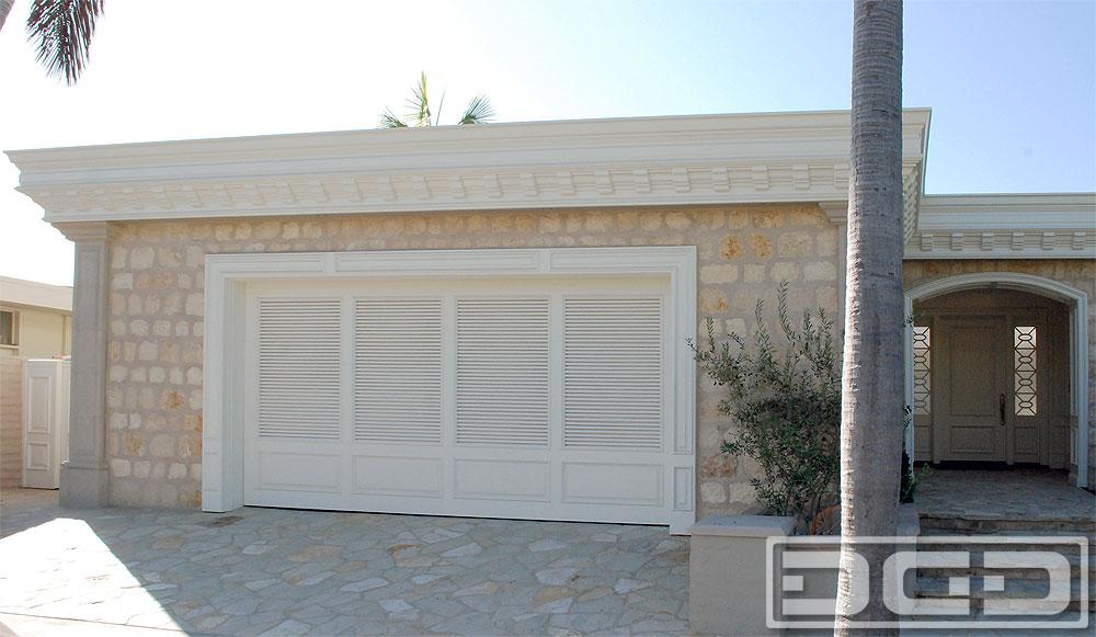 Coastal Custom Garage Door Design