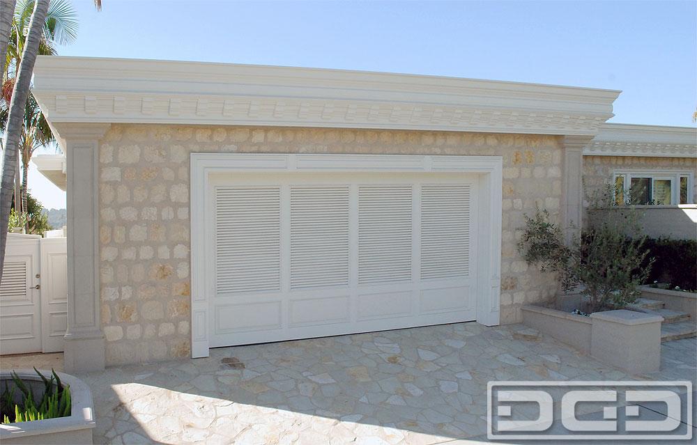 Newport Beach Shutter Garage Door