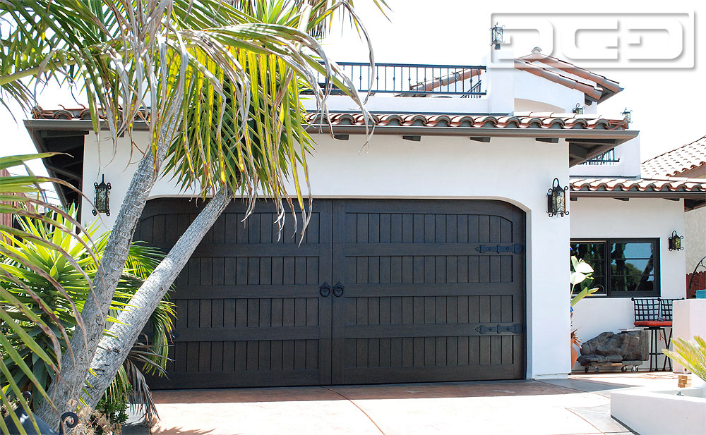 Handmade Spanish Garage Door Design