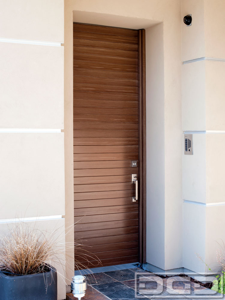 Luxury Composite Modern Entry Door