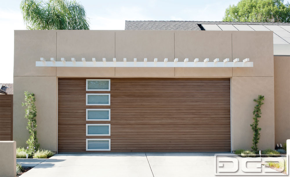 Modern Style Composite Garage Door