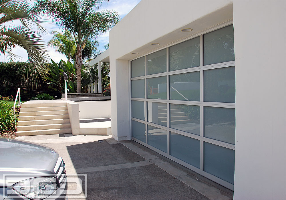 Luxury Full-View Glass Garage Doors