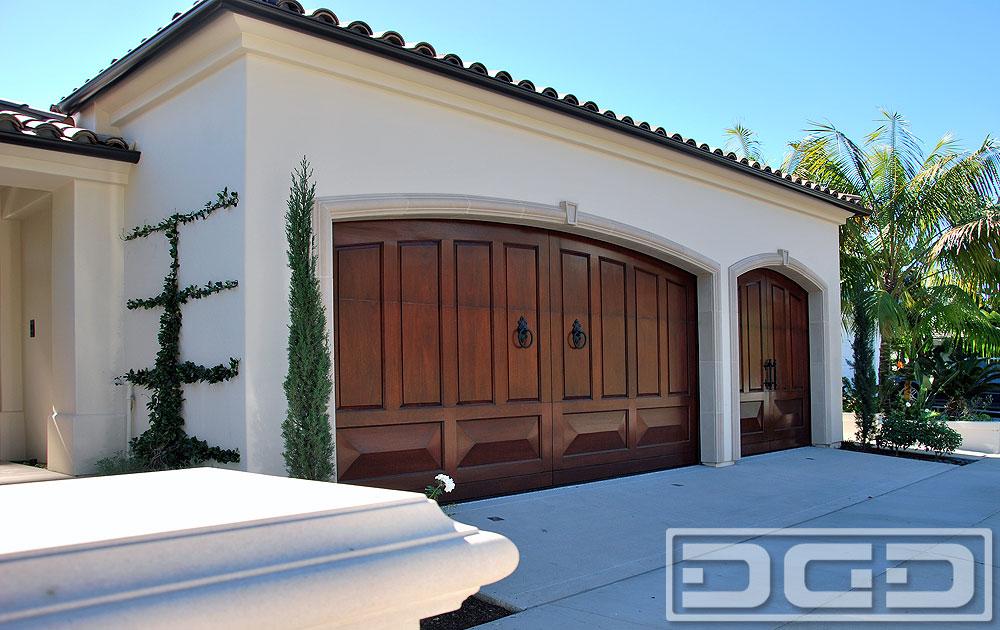 Corona Del Mar Ca Custom Mediterranean Garage Doors
