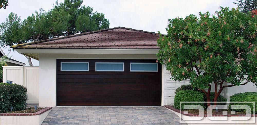 Custom Garage Door in a Modern Design