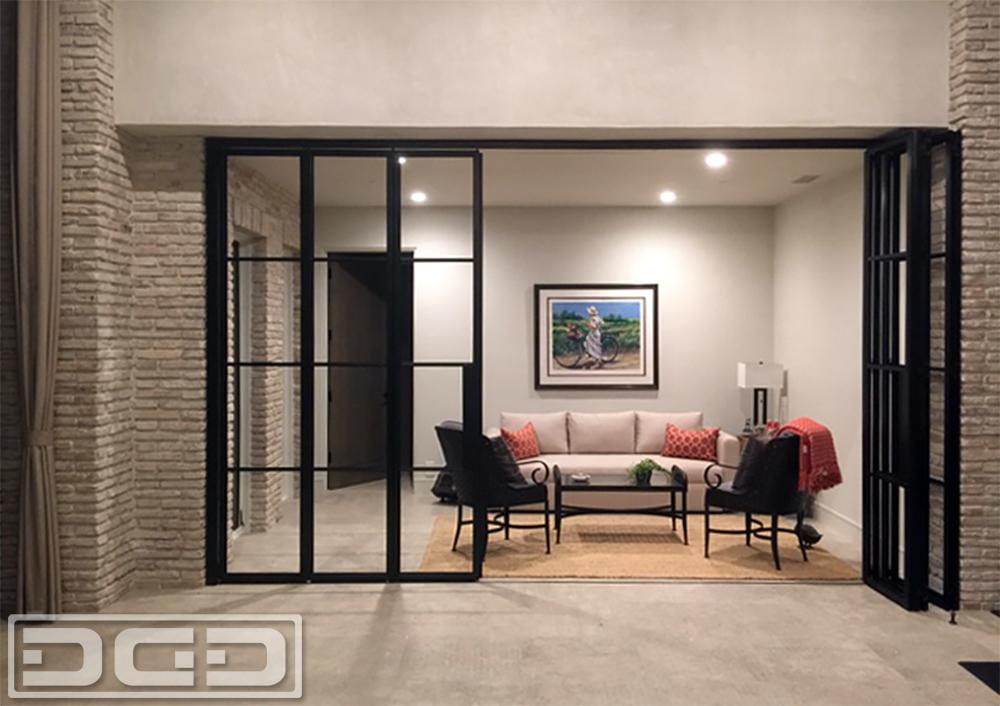European Steel u0026 Glass Panoramic Patio Doors & Dynamic Garage Door Projects