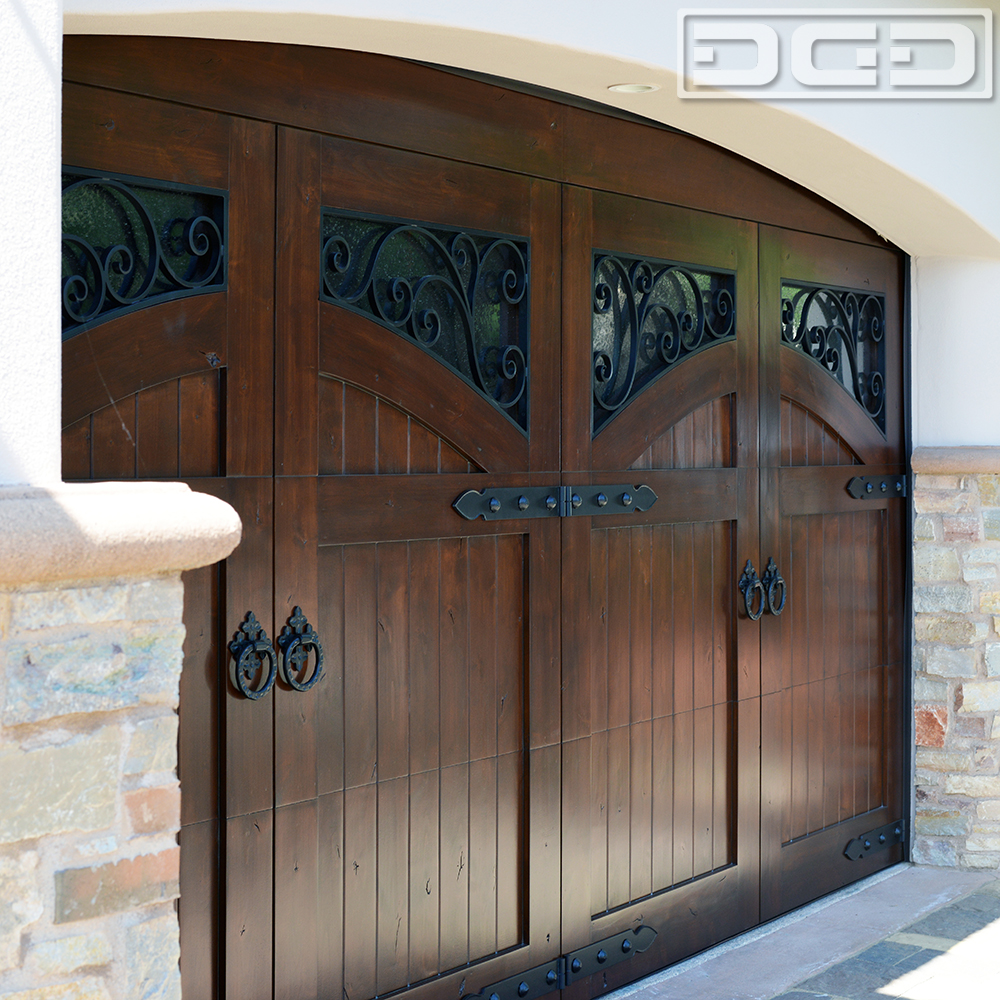 French Mediterranean Garage Doors Manufactured In Orange