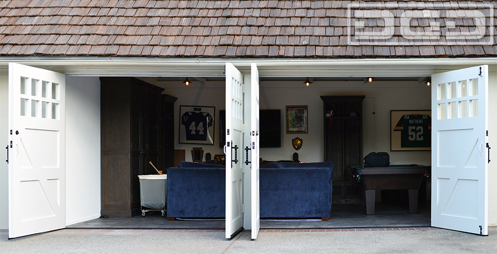 San Marino Carriage Door Conversion & Dynamic Garage Door Projects